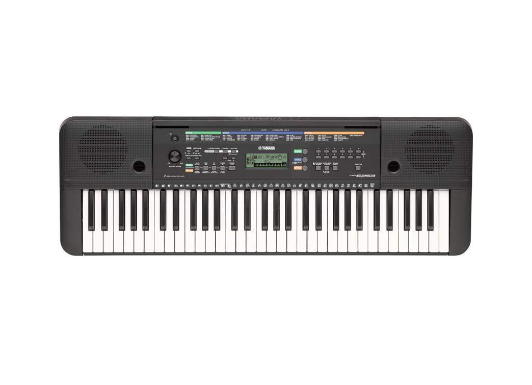 Yamaha psr e253 walters music centre toronto 39 s for Yamaha keyboard store